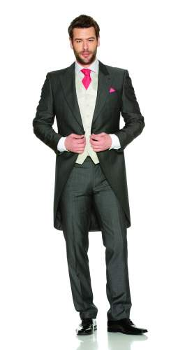Silk Grey Tailcoat Package