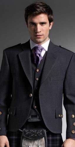 Charcoal Tweed Jacket Package